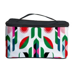 Abstract Peacock Cosmetic Storage Case