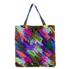 Tropical Jungle Print And Color Trends Grocery Tote Bag by Nexatart