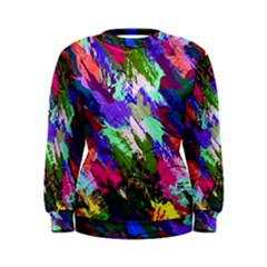 Tropical Jungle Print And Color Trends Women s Sweatshirt