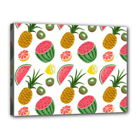 Fruits Pattern Canvas 16  X 12