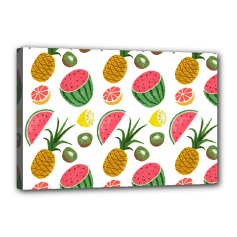 Fruits Pattern Canvas 18  X 12