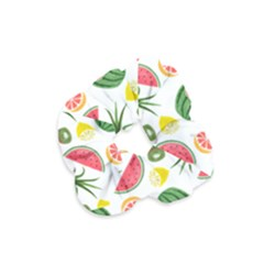 Fruits Pattern Velvet Scrunchie