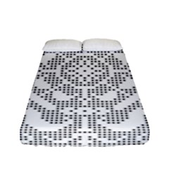 Mosaic Pattern Cyberscooty Museum Pattern Fitted Sheet (full/ Double Size)