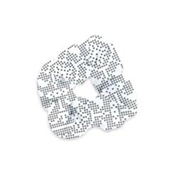 Mosaic Pattern Cyberscooty Museum Pattern Velvet Scrunchie
