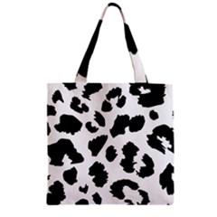 Leopard Skin Zipper Grocery Tote Bag by Nexatart