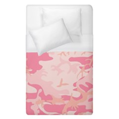 Pink Camo Print Duvet Cover (single Size)