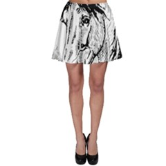 Framed Horse Skater Skirt