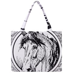 Framed Horse Mini Tote Bag