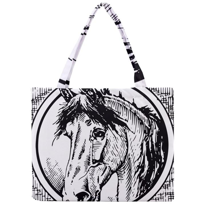 Framed Horse Mini Tote Bag