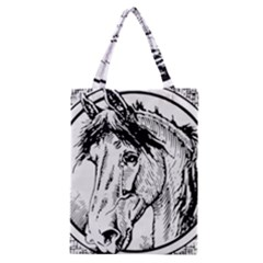 Framed Horse Classic Tote Bag