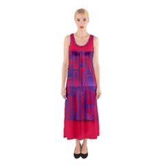 Funny Foggy Thing Sleeveless Maxi Dress