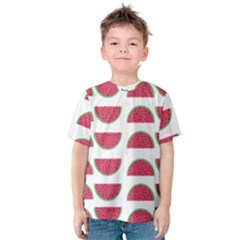 Watermelon Pattern Kids  Cotton Tee