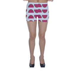 Watermelon Pattern Skinny Shorts