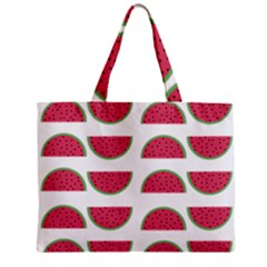 Watermelon Pattern Zipper Mini Tote Bag by Nexatart