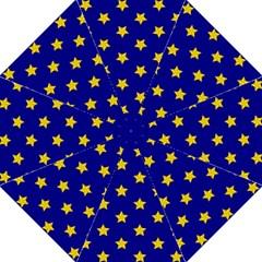 Star Pattern Golf Umbrellas by Nexatart
