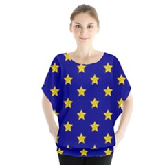 Star Pattern Blouse by Nexatart