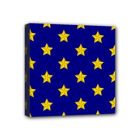 Star Pattern Mini Canvas 4  X 4  by Nexatart