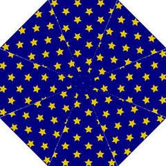 Star Pattern Folding Umbrellas
