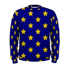 Star Pattern Men s Sweatshirt