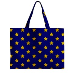 Star Pattern Zipper Mini Tote Bag by Nexatart