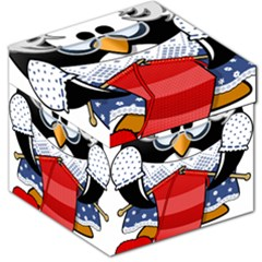 Grandma Penguin Storage Stool 12   by Nexatart