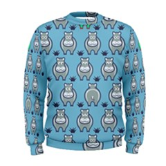 Funny Cow Pattern Men s Sweatshirt