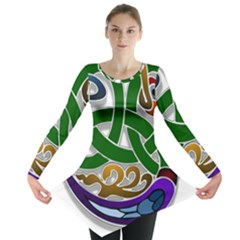 Celtic Ornament Long Sleeve Tunic