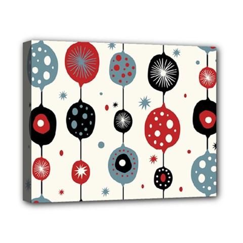 Retro Ornament Pattern Canvas 10  X 8