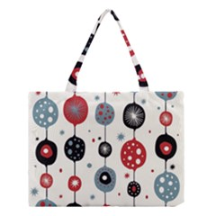 Retro Ornament Pattern Medium Tote Bag