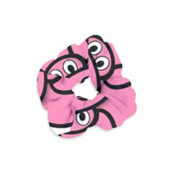 Pork Pig Pink Animals Velvet Scrunchie by Mariart