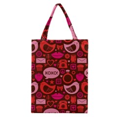 Xoxo! Classic Tote Bag by Nexatart