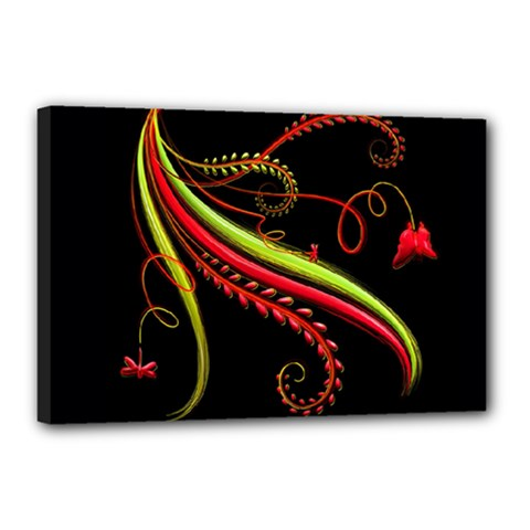 Cool Pattern Designs Canvas 18  X 12
