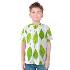 Spring Pattern Kids  Cotton Tee