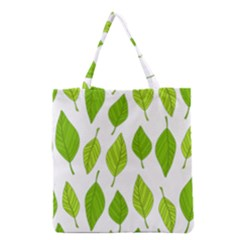 Spring Pattern Grocery Tote Bag by Nexatart
