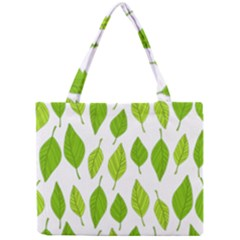 Spring Pattern Mini Tote Bag by Nexatart