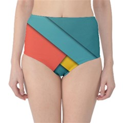 Color Schemes Material Design Wallpaper High Waist Bikini Bottoms