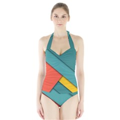 Color Schemes Material Design Wallpaper Halter Swimsuit