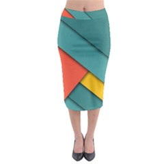 Color Schemes Material Design Wallpaper Midi Pencil Skirt