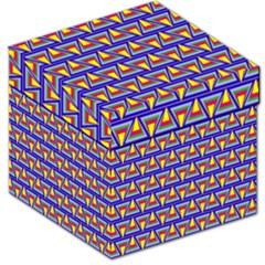 Seamless Prismatic Pythagorean Pattern Storage Stool 12   by Nexatart