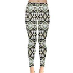 Abstract Camouflage Leggings  by dflcprints