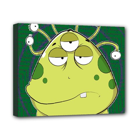 The Most Ugly Alien Ever Canvas 10  X 8  by Catifornia