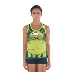 The Most Ugly Alien Ever Women s Sport Tank Top  by Catifornia