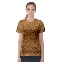 Giraffe Remixed Women s Sport Mesh Tee
