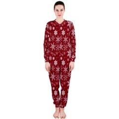Merry Christmas Pattern Onepiece Jumpsuit (ladies)