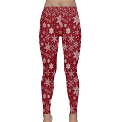 Merry Christmas Pattern Classic Yoga Leggings
