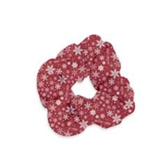 Merry Christmas Pattern Velvet Scrunchie