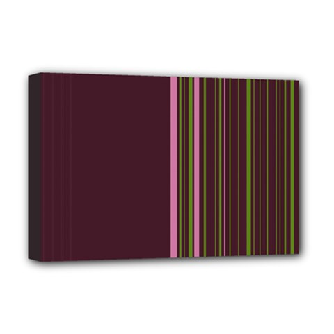 Lines Deluxe Canvas 18  X 12   by ValentinaDesign
