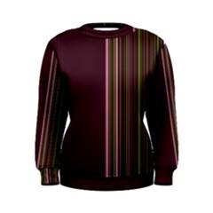 Lines Women s Sweatshirt by ValentinaDesign
