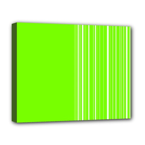 Lines Deluxe Canvas 20  X 16   by ValentinaDesign