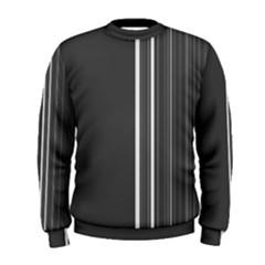 Lines Men s Sweatshirt by ValentinaDesign